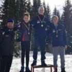 Δύο αργυρά μετάλλια για τον Βασίλη Ροσενλή σε Διεθνή αγώνα  χιονοδρομίας στην Βοσνία