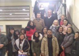 Επίσκεψη του Σχολείου Δεύτερης Ευκαιρίας στο δημοτικό συμβούλιο Αμυνταίου