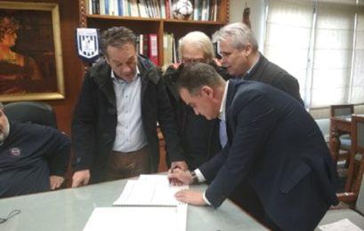 Τον αναδασμό της Μελίτης υπέγραψε ο Περιφερειάρχης Δυτικής Μακεδονίας Θ. Καρυπίδης