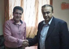 Με το νέο διοικητή του νοσοκομείου συναντήθηκε ο βουλευτής Φλώρινας Γιάννης Αντωνιάδης