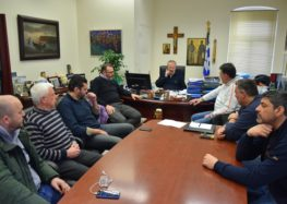 Συνάντηση του δημάρχου Φλώρινας με το τμήμα καλαθοσφαίρισης του ΦΣΦ «Ο Αριστοτέλης»