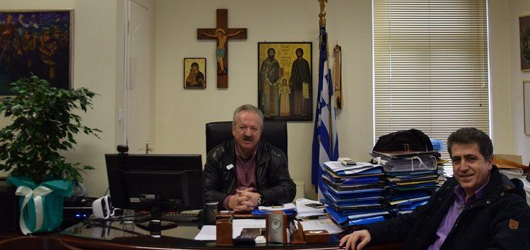 Συνάντηση του δημάρχου Φλώρινας με τον διοικητή του νοσοκομείου Φλώρινας
