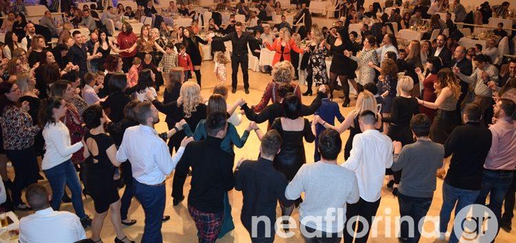 Η χοροεσπερίδα του ΠΑΣ Φλώρινα και των Σαρισών (video, pics)