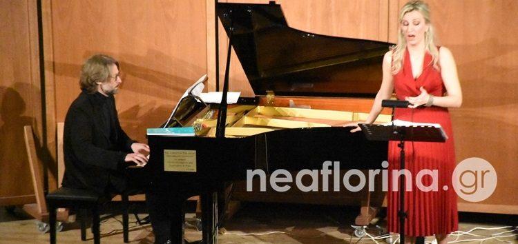 Ενθουσίασε το κοινό της Φλώρινας η σοπράνο Βιολέττα Λούστα (video, pics)