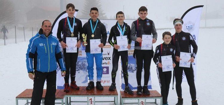 Αργυρό μετάλλιο για τον Θανάση Γάστη του ΑΟΦ, στο Βαλκανικό Children ski race