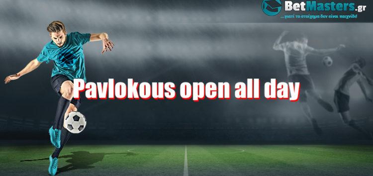 Pavlokous open all day