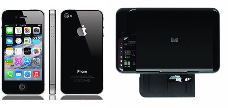 Πωλούνται κινητό iPhone 4s και εκτυπωτής HP F4580