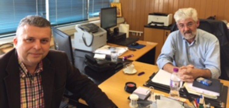 Ο Τρύφων Γρομπανόπουλος συναντήθηκε με τον διευθυντή του ΑΗΣ Αμυνταίου – Φιλώτα για το θέμα της τηλεθέρμανσης