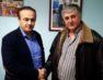 Συνάντηση του Γιάννη Αντωνιάδη με τον πρόεδρο του Συλλόγου Επισκευαστών Αυτοκινητιστών Φλώρινας Αναστάσιο Καραμήτσο