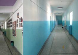 Ολοκλήρωση εργασιών χρωματισμού  στο Γυμνάσιο Αμυνταίου