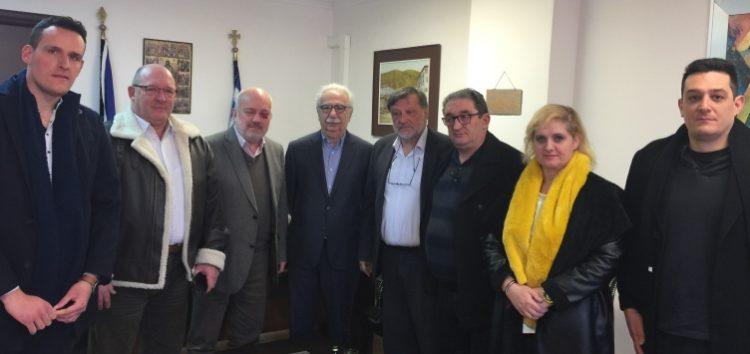Συνάντηση του δημάρχου Αμυνταίου με τον υπουργό  Παιδείας, Έρευνας και Θρησκευμάτων