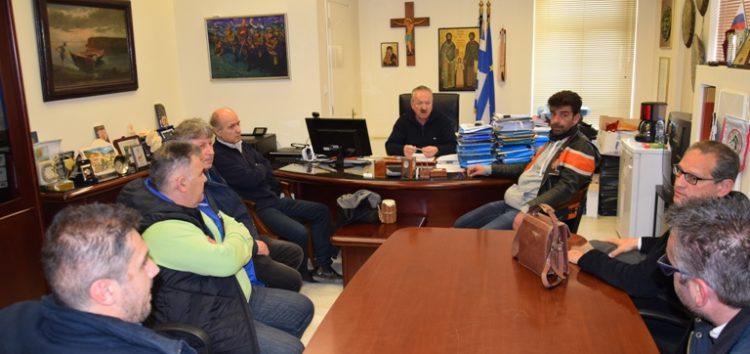 Συνάντηση του δημάρχου Φλώρινας με τον πρόεδρο και τα μέλη του Σωματείου Καταστημάτων Υγειονομικού Ενδιαφέροντος