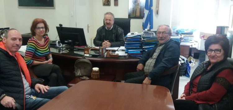 Συνάντηση του δημάρχου Φλώρινας με το προεδρείο του Συλλόγου Κιουταχειωτών Μικρασιατών Φλώρινας «Ο Άγιος Μηνάς»