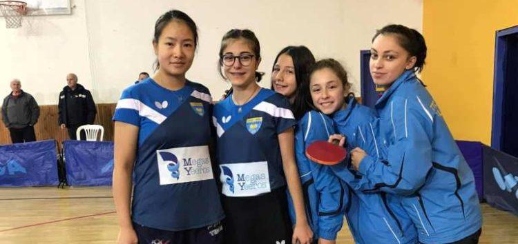 Αυλαία για τις Σάρισες στο πρωτάθλημα της Α1 γυναικών