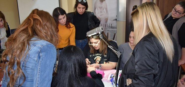 Ημέρα Καριέρας για το τμήμα «Τεχνικός Αισθητικής Τέχνης & Μακιγιάζ» του Ιδιωτικού ΙΕΚ VOLTEROS (pics)