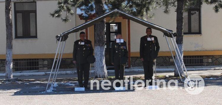 Τελετή παράδοσης – παραλαβής διοίκησης στο 1ο Σύνταγμα Πεζικού Φλώρινας (video, pics)
