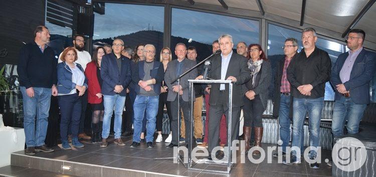 Τους πρώτους υποψήφιους του συνδυασμού του ανακοίνωσε ο Στέφανος Μπίρος (video, pics)