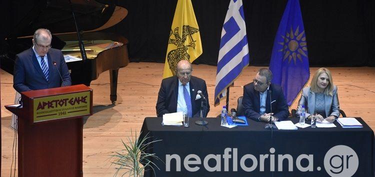 Η εκδήλωση για την αποδόμηση και τις νομικές αντιφάσεις που οδηγούν στην κατάργηση της Συμφωνίας των Πρεσπών (video, pics)