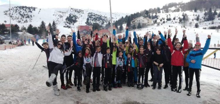 5 μετάλλια για τον ΑΟΦ στον αγώνα Ski Cross στο Σέλι, «xρυσός» και πάλι ο Ευάγγελος Αθανασίου