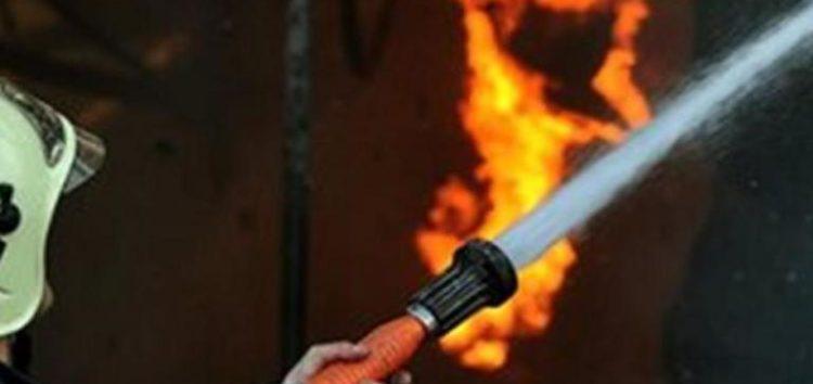Πυρκαγιά σε αγροτική αποθήκη στην Ιτιά