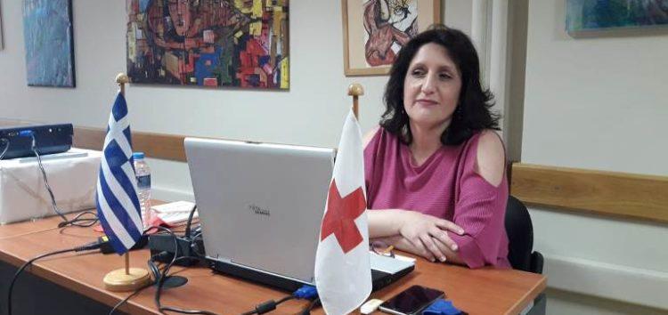 Ο Ερυθρός Σταυρός Φλώρινας ευχαριστεί την ιατρό Αναστασία Κασκαμανίδου και τον επόπτη δημόσιας υγείας Δημήτριο Χάσο