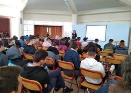 Ομιλία για την ασφαλή χρήση του διαδικτύου στο 1ο ΕΠΑΛ Αμυνταίου