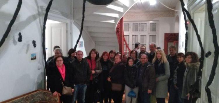 Επίσκεψη του Σ.Δ.Ε. Φλώρινας στην έκθεση Women In Art (pics)