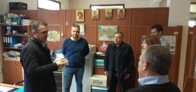 Το Αμύνταιο επισκέφτηκε ο υποψήφιος Περιφερειάρχης Γιώργος Κασαπίδης
