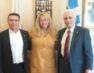 Συνάντηση γνωριμίας της νέας Προέδρου του Ερυθρού Σταυρού Φλώρινας με τον Πρόεδρο και τον Γ.Γ. της Κεντρικής Διοίκησης