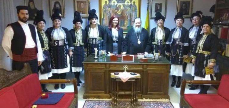 Επίσκεψη του Λυκείου Ελληνίδων στον Μητροπολίτη κ. Θεόκλητο (pics)