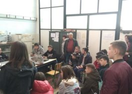 Επίσκεψη του 2ου Γυμνασίου Φλώρινας στο 1ο Ε.Κ. και 1ο ΕΠΑ.Λ. Φλώρινας (video, pics)