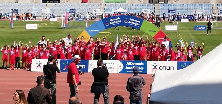 70 αθλητές του ΠΑΣ Φλώρινα στο Φεστιβάλ Ακαδημιών ΟΠΑΠ