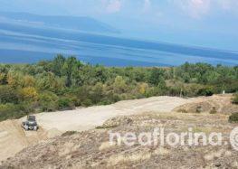 Με τη συνδρομή του Στρατού Ξηράς η διάνοιξη της συνοριακής διάβασης στο Λαιμό Πρεσπών (pics)