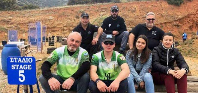 Πέντε αθλητές της Σκοπευτικής Αθλητικής Λέσχης Φλώρινας σε αγώνα πρακτικής σκοποβολής στον Πεντάλοφο (video, pics)