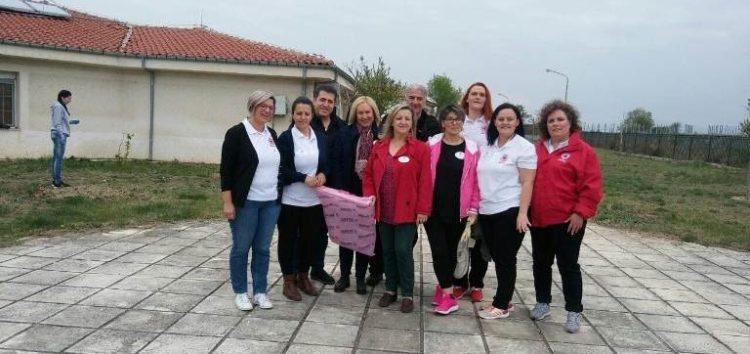 Εθελοντές του Περιφερειακού Τμήματος Φλώρινας του Ερυθρού Σταυρού στο «Let's do it Greece»