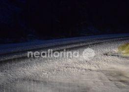 Πυκνή χιονόπτωση στο Πισοδέρι (video, pics)