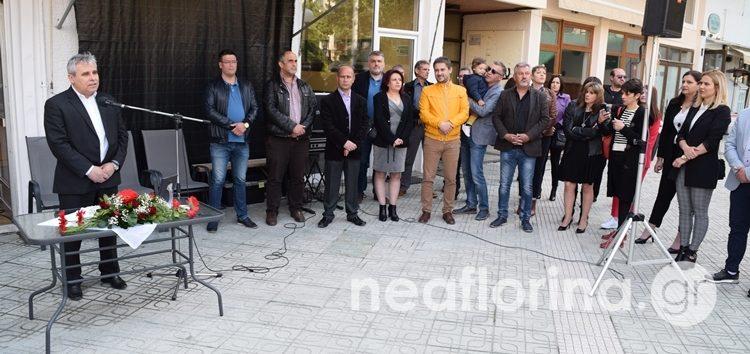 Τα εγκαίνια του εκλογικού κέντρου του συνδυασμού «Δημιουργική Πορεία – Κοινωνική Συνεργασία» (video, pics)