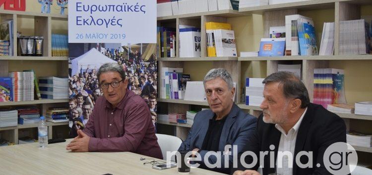 Στη Φλώρινα ο ευρωβουλευτής του ΣΥΡΙΖΑ Στέλιος Κούλογλου (video, pics)