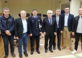 Συνάντηση του Δ.Σ. της Ένωσης Αστυνομικών Υπαλλήλων Φλώρινας με την Υπουργό Προστασίας του Πολίτη και τον Αρχηγό της ΕΛ.ΑΣ.