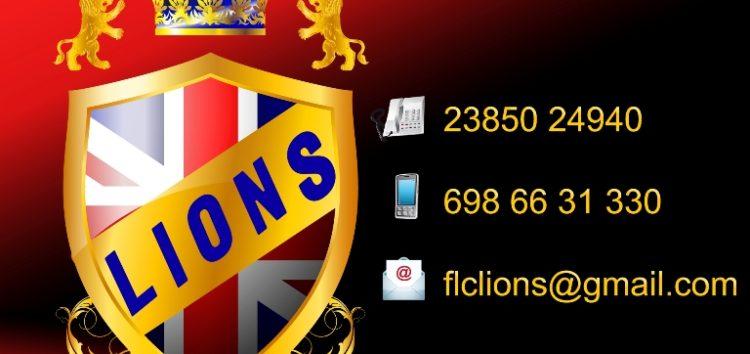 Συγχαρητήριο του Κέντρου Ξένων Γλωσσών Lions
