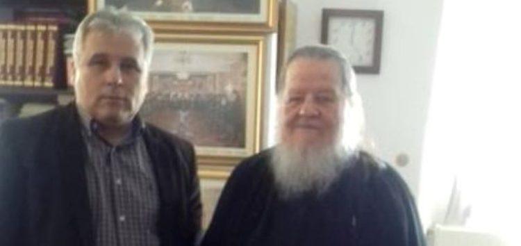 Με τον Μητροπολίτη Θεόκλητο συναντήθηκε ο υποψήφιος δήμαρχος Φλώρινας Στέφανος Μπίρος