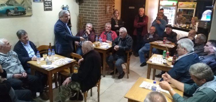 Περιοδεία του υποψηφίου δήμαρχου Φλώρινας Στέφανου Μπίρου σε Βεύη, Λόφους και Σιταριά (pics)