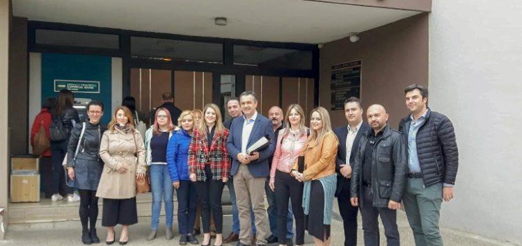 Το ψηφοδέλτιο του συνδυασμού του κατέθεσε ο υποψήφιος Περιφερειάρχης Γιώργος Κασαπίδης