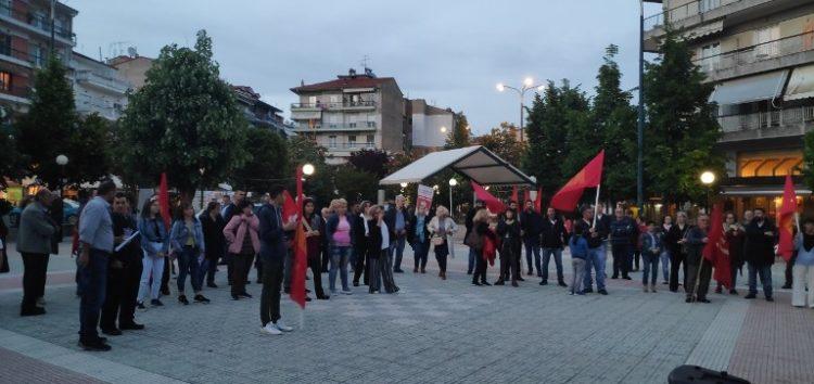Η κεντρική προεκλογική συγκέντρωση του ΚΚΕ και της Λαϊκής Συσπείρωσης στη Φλώρινα (pics)