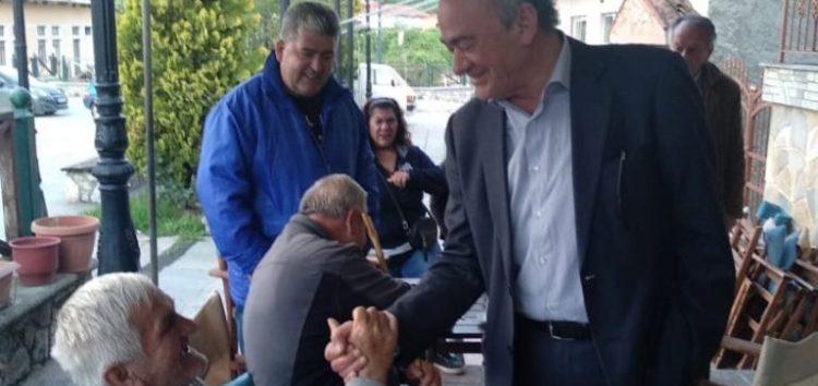 Επισκέψεις του Δημήτριου Φαρμακιώτη στις τοπικές κοινότητες Φλαμπούρου, Αμμοχωρίου και Πρώτης (pics)
