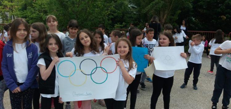 Ημέρα Ολυμπιακών Αγώνων στο 6ο Δημοτικό Σχολείο Φλώρινας