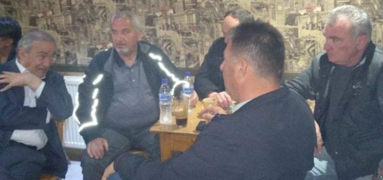 Επισκέψεις του υποψήφιου δημάρχου Φλώρινας Δημήτριου Φαρμακιώτη στις τοπικές κοινότητες Σιταριάς, Βεύης και Λόφων