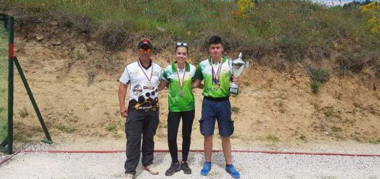 Τρεις αθλητές της Σκοπευτικής Αθλητικής Λέσχης Φλώρινας στον αγώνα «Asclipios Cup 2019» (video, pics)