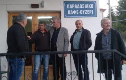 Ο υποψήφιος δήμαρχος Φλώρινας Δημήτρης Φαρμακιώτης σε Τριανταφυλλιά, Ατραπό και Πολυπόταμο (pics)