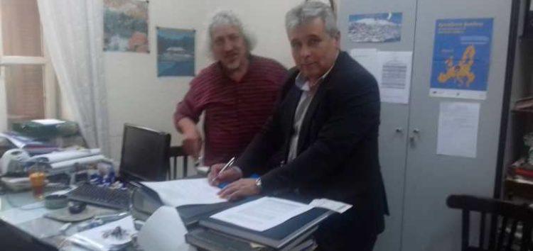Ο υποψήφιος δήμαρχος Φλώρινας Στέφανος Μπίρος κατέθεσε τη δήλωση κατάρτισης του συνδυασμού του